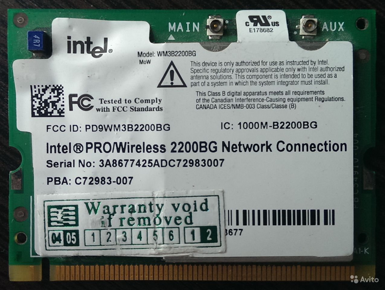 Downloads for Intel PRO/Wireless 2200BG Network Connection