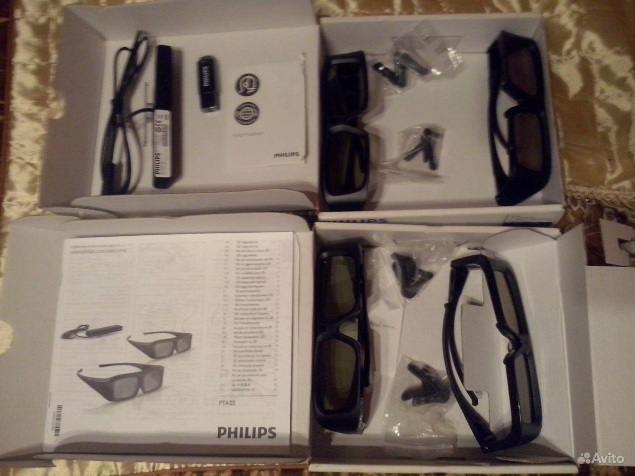 Активные 3d очки philips 15 фотография