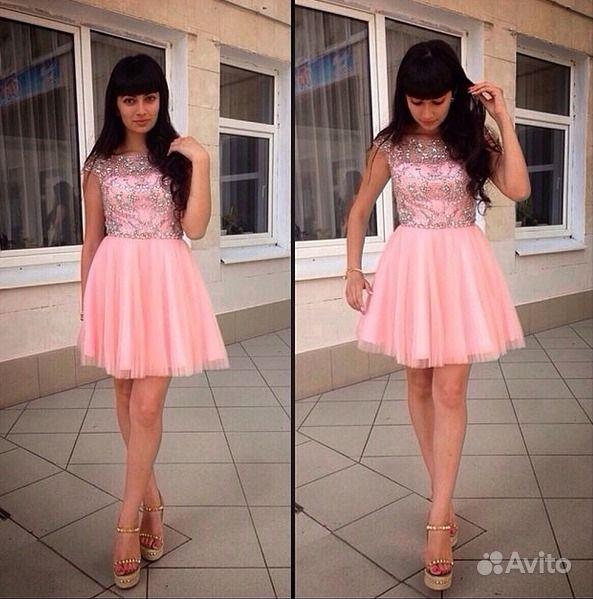 Платье С Короткой Юбкой