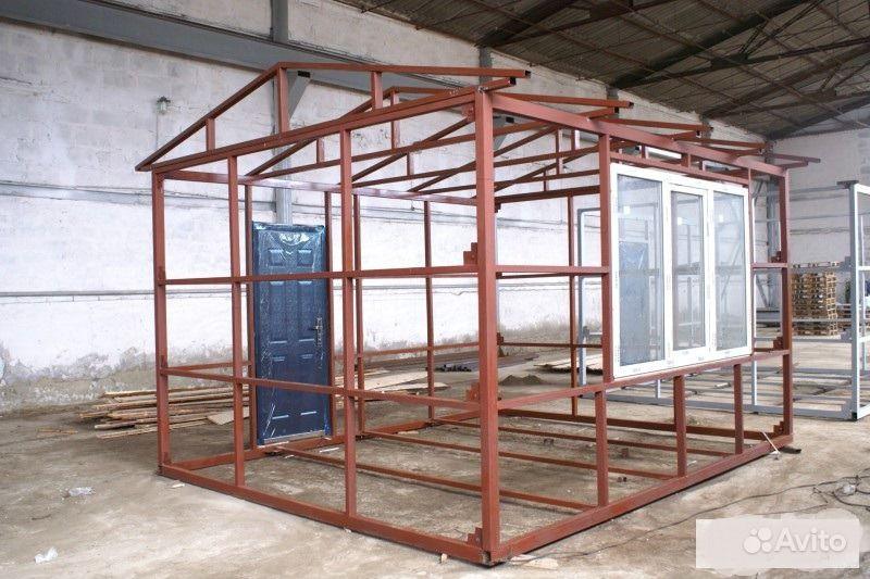 Построить дом из металлического каркаса своими руками