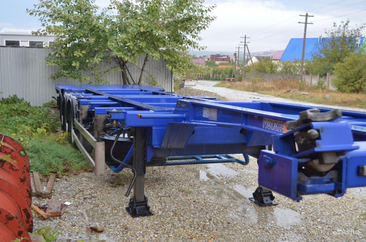 Продам полуприцеп контейнеровоз. Краснодарский край, Новороссийск