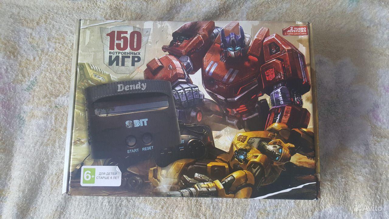 Игровая приставка Dendy Transformers 150 игр. Кемеровская область,  Кемерово
