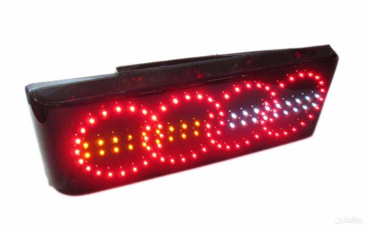 Как сделать задние диодные фонари 824