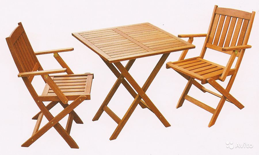 Садовая мебель из дерева складная. - 8 сентября 2015 - blog .