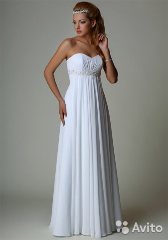Платье в греческом стиле свадебные
