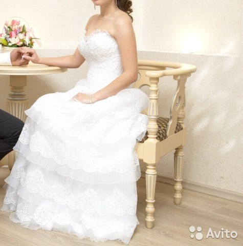 Очень красивое свадебное платье 89806808503 купить 1