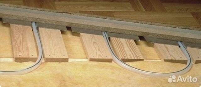Теплый пол водяной своими руками в деревянном доме