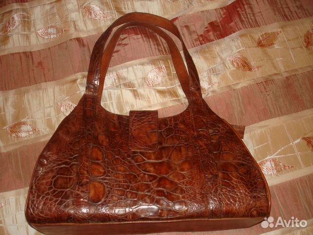 Купить Сумка из кожи крокодила IMA0707K1 в интернет
