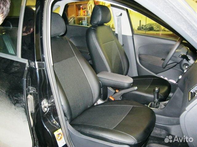 Авточехлы для Renault Logan, чехлы автомобильные на