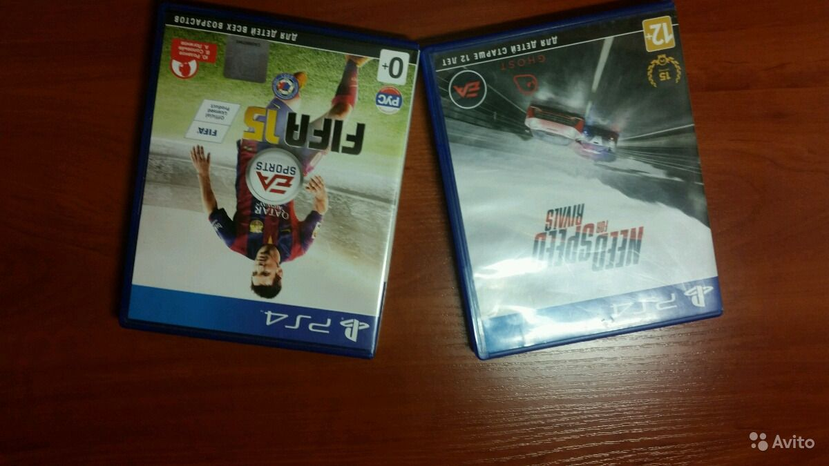 Fifa, need for speed rivals