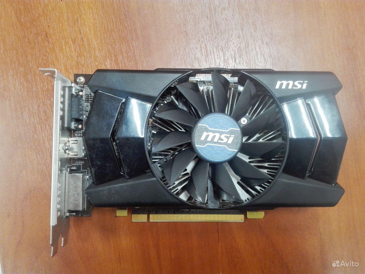 Видеокарта MSI AMD Radeon R7 250 (R7 250 1GD5 OC)