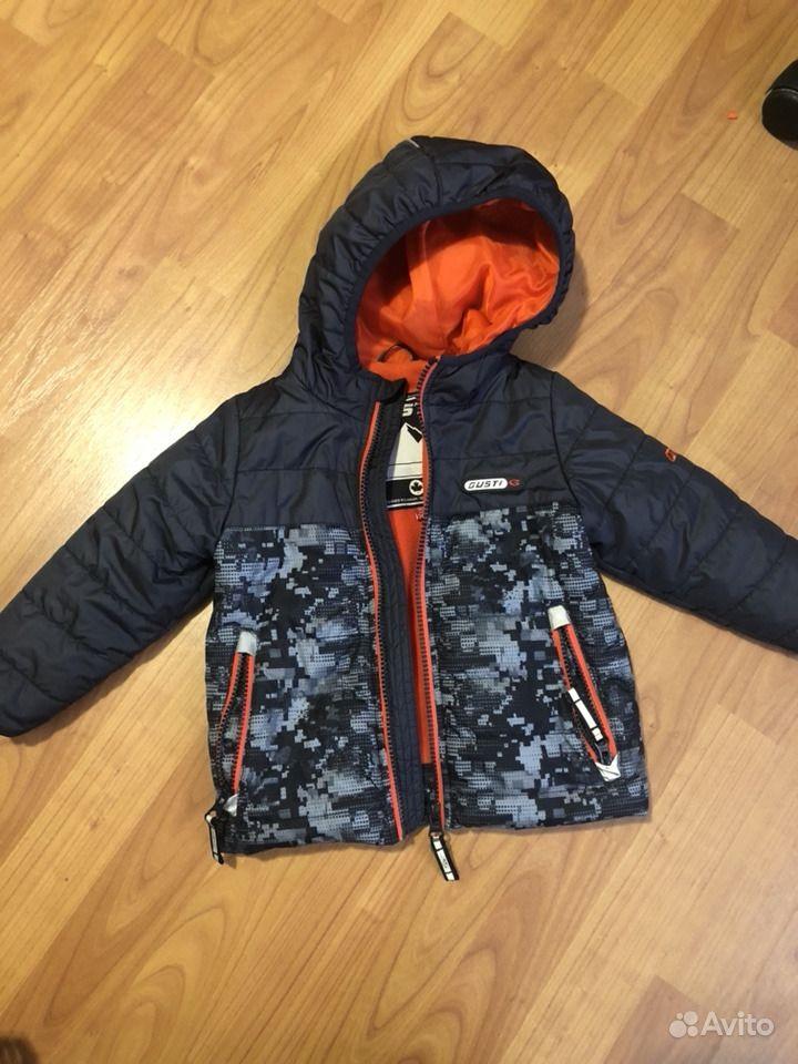 Куртка Густи весна-осень р 90 — фотография №1