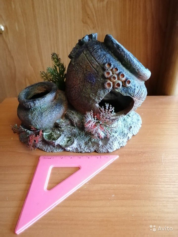 Грот декор для аквариума купить на Зозу.ру - фотография № 1