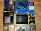 Sony PlayStation 3 super slim 500Gb + 57 игр