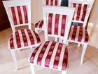 Новые стулья из натурального массива