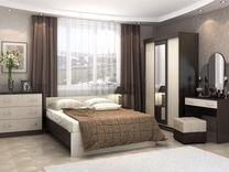 Спальный гарнитур шкаф,кровать,матрас — Мебель и интерьер в Москве