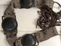 Кожаный ремень — Одежда, обувь, аксессуары в Москве