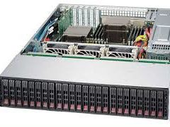 Сервер Supermicro 24 HDD / 2x 6 core / RAM 96Gb