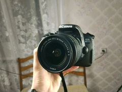 Canon EOS 650d + объектив canon efs 18-55mm