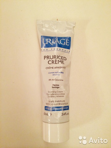 Uriage pruriced creme— фотография №1