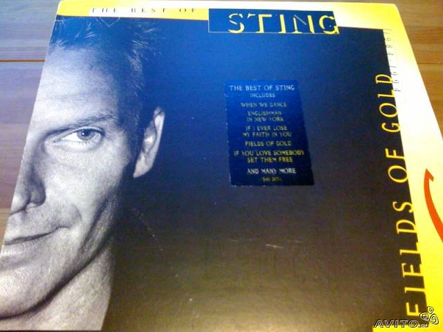 Sting Fields Of Gold The Best Of Sting 2LP France