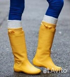 0f760d0e9dce Сапоги резиновые Crocs 35 - 41 р. желтые и др. цв купить в Москве на ...