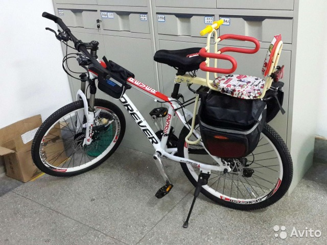 Кресло на велосипед для ребенка б/у