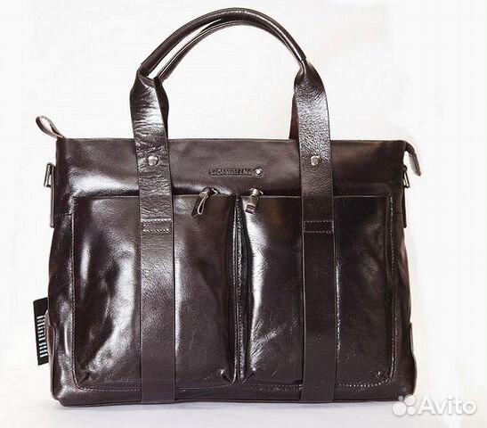 a2651d31b733 Мужская кожаная сумка Montblanc A4 мужские сумки купить в Москве на ...