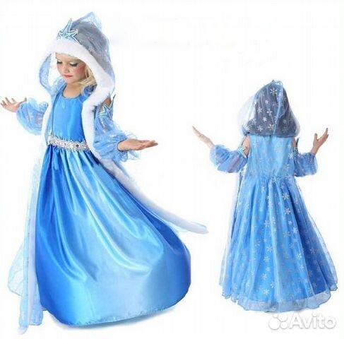 Авито платье холодное сердце