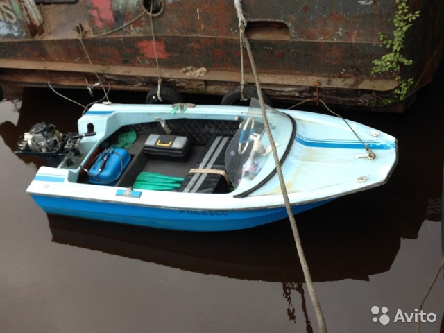 купить лодку с мотором только б у