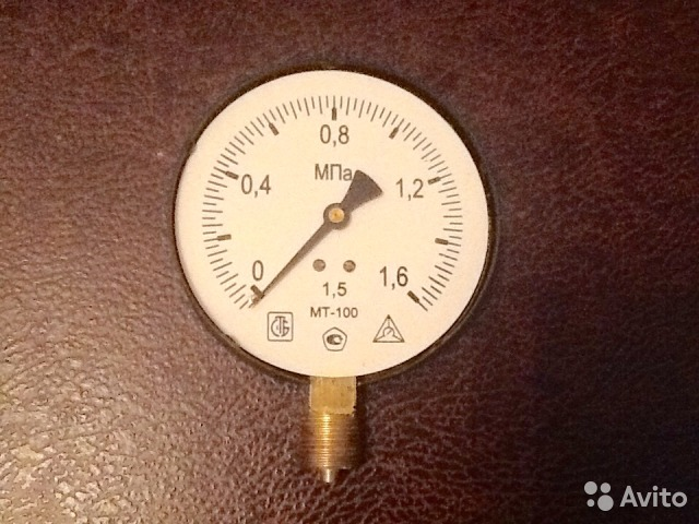 манометр мт 100 1 5