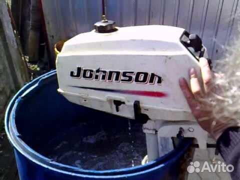 лодочный мотор джонсон цена видео
