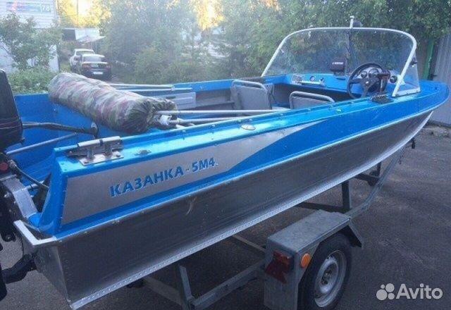 продажа лодок новых казанка