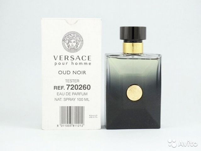 Versace Pour Homme Oud Noir Tester купить в республике башкортостан