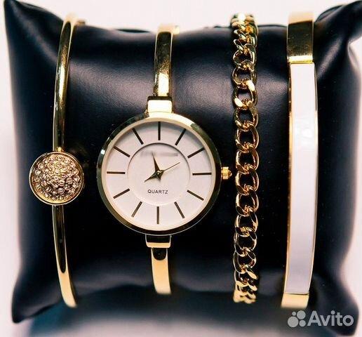 парфюм, женские часы anne klein с браслетами туалетную воду или