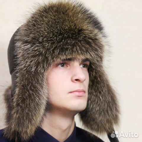 Распродажа мужских меховых шапок