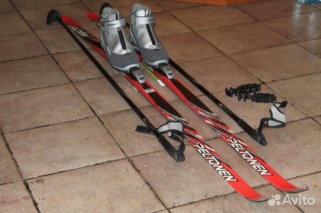 4a9cd79f736f Комплект беговых лыж Peltonen 180 см   р.37   Festima.Ru ...
