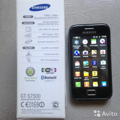 SAMSUNG Galaxy Ace Plus gt-s7500 купить 2