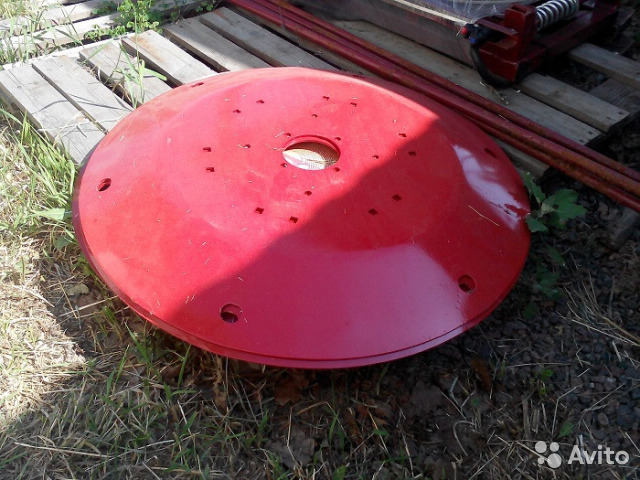 The top plate of the mower Wirax 1.65 (5070/010200)
