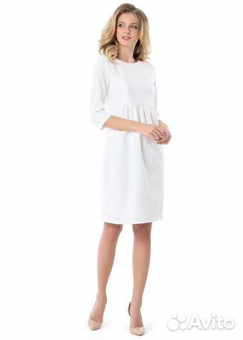 a342ec9e23d6f0f Белое нарядное платье для беременных в идеале купить в Санкт ...