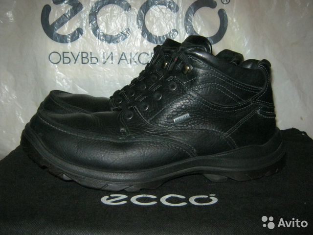 2def545d Ecco gore-tex ботинки кожаные на 45 разм | Festima.Ru - Мониторинг ...