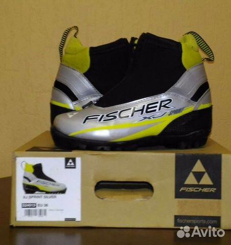 Лыжные ботинки детские Fischer   Festima.Ru - Мониторинг объявлений b65b65c0df9