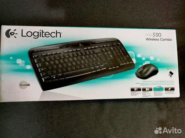 Клавиатура+мышь Logitech Wireless Combo MK330