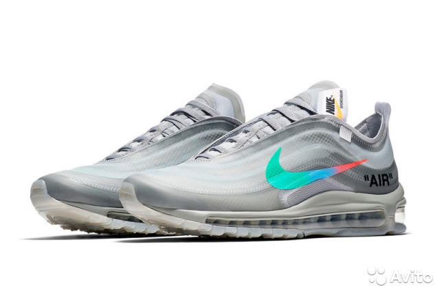 71560448 Off-White x Nike Air Max 97 Menta | Festima.Ru - Мониторинг объявлений