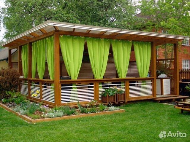 Дачные дома беседки веранды бани садовая мебель 89054130303 купить 6