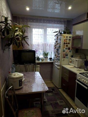 Продается трехкомнатная квартира за 3 350 000 рублей. ул Строкина, 12.