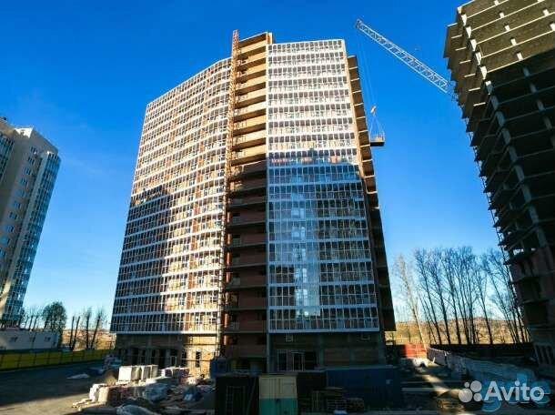 Продается квартира-cтудия за 1 350 000 рублей. Красноярск, жилой комплекс Глобус.