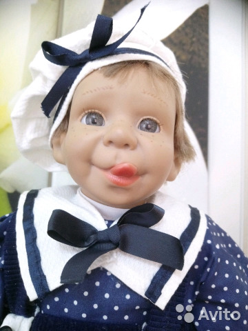 Характерные куклы Panre, клеймо, 38 см  89114929297 купить 2