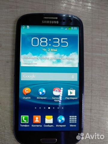 2d25f13ff03 SAMSUNG Galaxy S III (GT-19300) купить в Москве на Avito ...