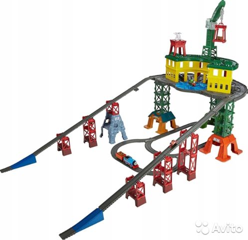 Железнодорожная станция fisher-price tomek FGR22 89062132153 купить 8